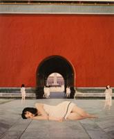 "Cui Xiu Wen - Angel 11, 2006, image size 39"" x 47"", framed 53 ¼"" x 45 ¾"""