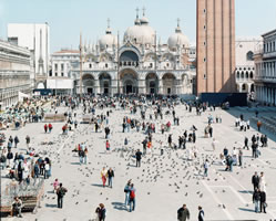 "Massimo Vitali - Venezia San Marco, lithograph, 34.5"" x 42.5"""
