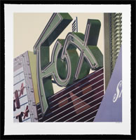 "Robert Cottingham - 2009, silkscreen, image size: 37"" x 38"", frame size: 42.5"" x 43.5"", regular edition of 100, signed, titled and numbered and dated in pencil by the artist"