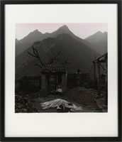 "Rong Rong - 2001, hand dyed gelatin silver prints, image: 15 ¾"" x 15 ¾"", framed: 25"" x 21"", edition of 20"