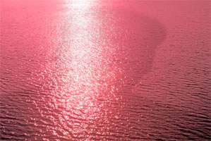 "Sun Ping - Water (Shadow of Mao), 2008, photograph, image size: 31 ½"" x 46 ½"", framed: 42 ½"" x 58"""