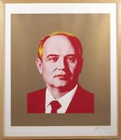 "Alexander Kosolapov, Gorby, 1991, silkscreen, 31.1"" x 26.2"", edition# 11/25 matching suite"