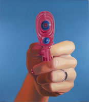 "Shannon Cannings, Rosie, 2007, oil on canvas, 56"" x 48"""