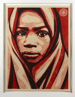 Shepard Fairey, Blankets-Uganda Suite, 2009, silkscreen
