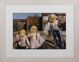 Barbara Beirne, Untitled, from the Children Series, photograph, 13 x 18 inches, frame size-21.5 x 26.75 inches