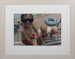 Barbara Beirne, Untitled, from the Children Series, photograph, 11.5 x 17 inches, frame size-21.5 x 26 inches