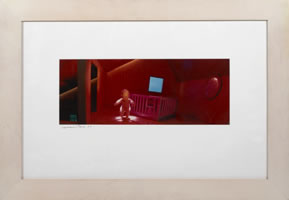 Charmaine Caire, Recess, photograph, 5.25 x 13.25 inches, frame size-16 x 23 inches, edition of 35