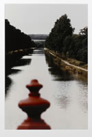 Ralph Gibson, Burgundy Canal, Bourgogne, photograph, 16 x 20 inches