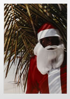 Ralph Gibson, Santa Claus, St. Martin, 1992, photograph, (From the portfolio France, Near and Far). No. 48/50, 16 x 20 inches