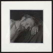 Arturo Tulenov, Untitled, photograph, framed - 12 x 12 inches, size - 7 1/2 x 7 1/2 inches
