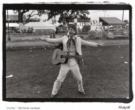 "Brian Ashley White, ""I'm a Star"", photograph, frame - 32 1/4 x 28 3/4 inches, size - 12 1/2 x 18 inches"