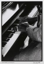 "Brian Ashley White, ""Piano Hands"", photograph, frame - 22 3/4 x 18 3/4 inches, size - 12 x 8 1/4 inches"