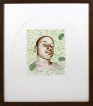 Kehinde Wiley, Untitled, archival inject print, size - 15 x 19 inches, Artist Proof #5/5