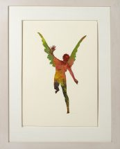 Nancy Spero, 2000, framed - 30 1/2 x 24 inches