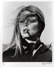 "Terry O'Neil, ""Bridget Bardot- Spain"", 1971, silver gelatin print, edition #41/50, framed - 30 1/2 x 26 1/3 inches, size - 19 1/2 x 15 1/2 inches"