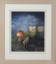William Wegman, From the Cinderella portfolio, 100% cotton Fabriano Teipolo, handtorn