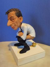 Elliott Arkin - Catalan Cattelan Caganer, 6 1/2 x 4 x 4 inches, Hand painted resin, limited edition 50, $650.00